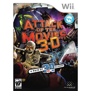 Attack of the Movies 3-D - Wii Game