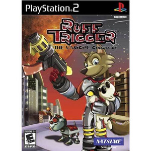 Ruff Trigger The Vanocore Conspiracy - PS2 Game