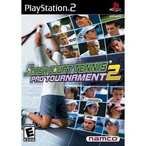 Smash Court Tennis Pro Tournament 2 - PS2 Game