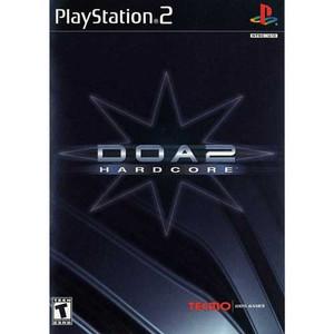 DOA 2 Hardcore - PS2 Game