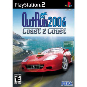 Outrun 2006 Coast 2 Coast - PS2 Game