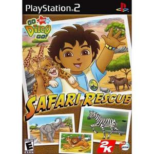 Go Diego Go Safari Rescue - PS2 Game
