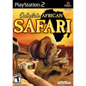 Cabela's African Safari - PS2 Game