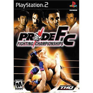 Pride Fighting Championship - PS2 Game