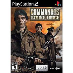 Commandos Strike Force - PS2 Game