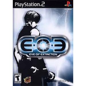 E.O.E Eve of Extinction - PS2 Game