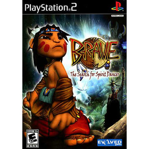 Brave The Search for Spirit Dancer - PS2 Game