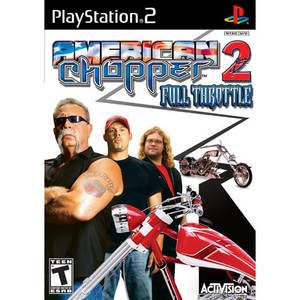 American Chopper 2 Full Throttle - PS2 Game