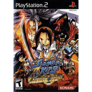 Shaman King Power Of Spirit - PS2 Game