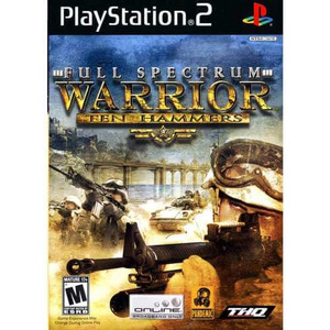 Full Spectrum Warrior Ten Hammers - PS2 Game