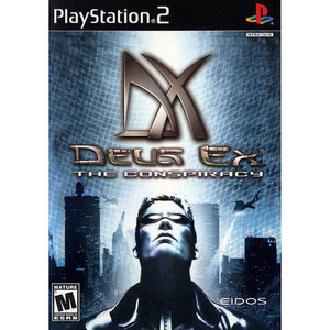 Deus Ex The Conspiracy - PS2 Game