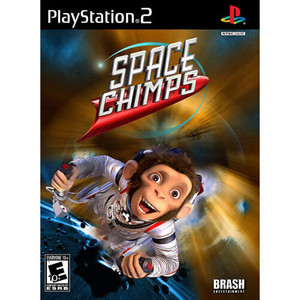 Space Chimps - PS2 Game