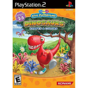 Dinosaurs Shapes & Colors - PS2 Game