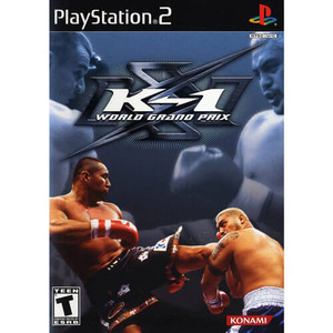 K-1 World Grand Prix - PS2 Game