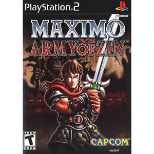 Maximo VS Army Of Zin - PS2 Game