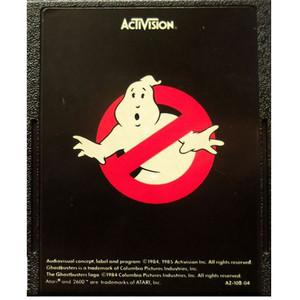Ghostbusters (Black Label)- Atari 2600 Game