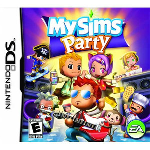 My Sims Party Nintendo DS game box image pic