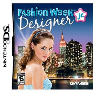 Fashion Week Jr Designer Nintendo DS game box art image pic
