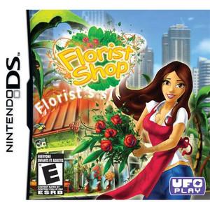 Florist Shop Nintendo DS game box art image pic