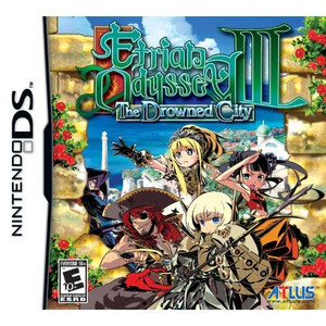Etrian Odyssey III The Drowned City - DS Game