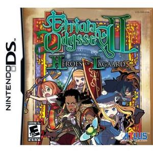 Etrian Odyssey II Heroes of Lagaard Nintendo DS game box art image pic