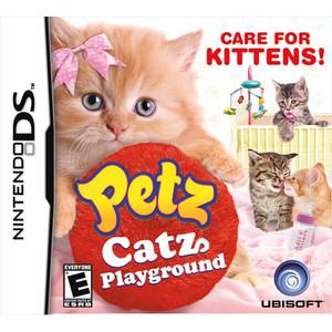 Petz Catz Playground DS game box art image pic