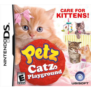 Petz Catz Playground DS game box art image pic