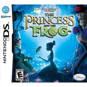 Princess and the Frog Disney DS game box art image pic