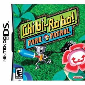 Cbi-bi-Ro bo! Park Patrol DS game box art image pic