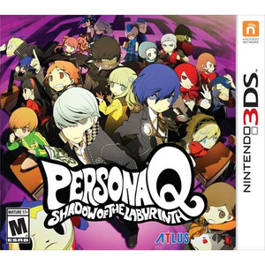 Persona Q Shadow of the Labyrinth Nintendo 3DS Game RPG for sale Image pic box art.