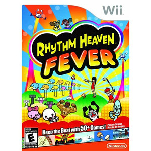 Rhythm Heaven Fever Nintendo Wii used video game for sale.