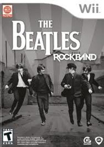 The Beatles Rockband wii  used video game for sale.