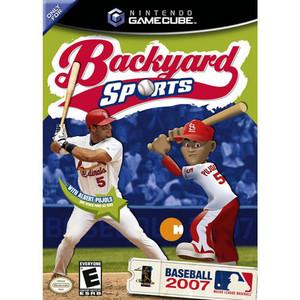 Backyard Sports Baseball 2007 - Gamecube Game