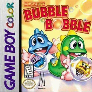 Bubble Bobble - Game Boy Color Game