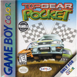 Top Gear Pocket - Game Boy Color Game