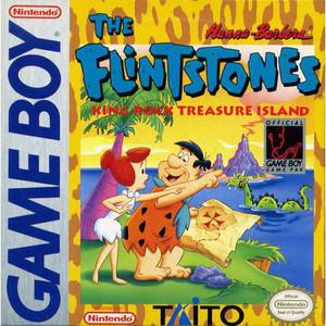 Flintstones King Rock Treasure Island - Game Boy Game