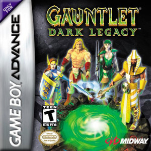 Gauntlet Dark Legacy - Game Boy Advance Game