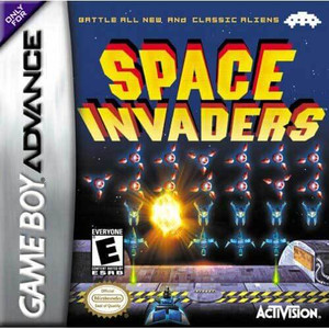 Space Invaders - Game Boy Advance Game