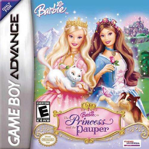 Barbie The Princess and The Pauper - Game Boy Advance Game