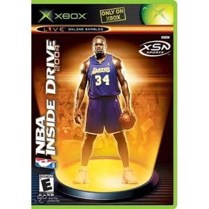 NBA Inside Drive 2004 - Xbox Game