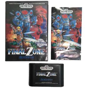 final zone complete sega genesis game for sale cib.