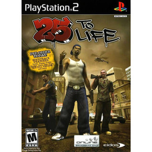 25 To Life - PS2 game