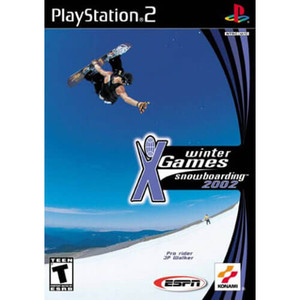 Winter X Games Snowboarding 2002 - PS2 Game