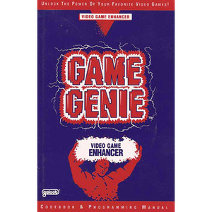 Game Genie Codebook - Nintendo NES