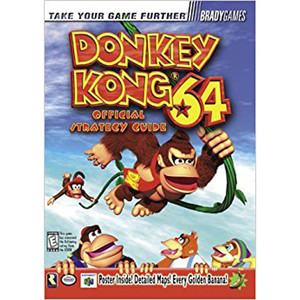 Strategy Guide Donkey Kong 64 - Brady N64 Nintendo 64