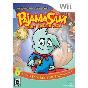 Pajama Sam Don't Fear The Dark - Wii Game