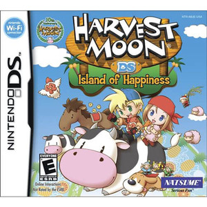 Harvest Moon DS Island of Happiness - DS Game