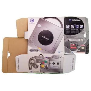 Platinum Gamecube Empty System Box Front