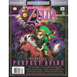 Perfect Guide Zelda Majora's Mask N64 - Versus Books