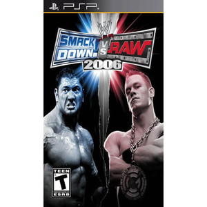 Smack Down Vs. Raw 2006 - PSP Game